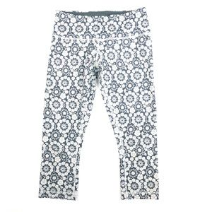 Lululemon Wunder Under Crop Twiggy Print (I13)